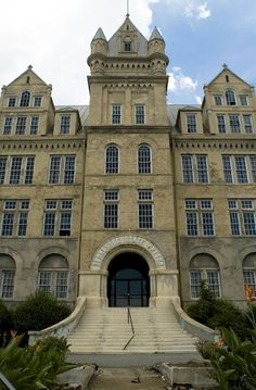 Old Tennessee State Prison. Abandoned