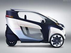 future, Toyota, eco car, i-Road, 2013, green cars, Geneva Motor Show, electric cars, PMV, future cars, future vehicles, futuristic