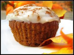 Pumpkin Cupcakes Ina Garten ina garten's pumpkin cupcakes with maple cream cheese frosting