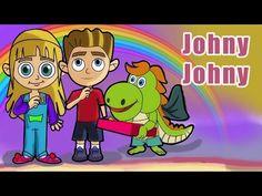 #JohnyJohny? Yes Papa! :-) Has little Johny been eating sugar? #NurseryRhymes #Kids