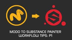 Welcome to the first in the series of Modo to Substance Painter (high poly) workflow tips created especially for Modo users that are new to Substance Painter. #substancepainter #allegorithmic #modo #3d