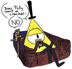 Does Polly want a cracker?