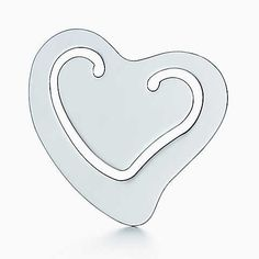 Perfect for Your Favorite Bookworm  | Elsa Peretti® Heart bookmark in sterling silver.