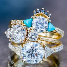 Interview with Jillian of Marrow Fine Jewelry - Meet The New Crusader For Your Diamonds - engagement rings in yellow gold (wedding)
