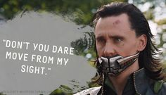 "Loki's Dirty Whispers - Submission: ""Don't you dare move from my sight."""