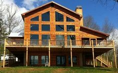 Amazing Lakefront Luxury Home located on Lake Nottely in Blairsville, GA.  Lots of stuff to do and it's close to town.