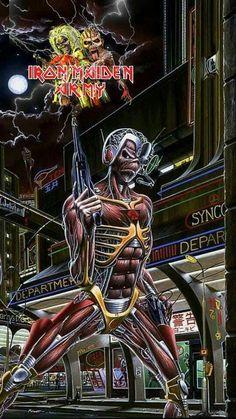 Arte Pink Floyd, Iron Maiden Posters, El Rock And Roll, Deadpool, Spiderman, Superhero, Fictional Characters, Board, Metal