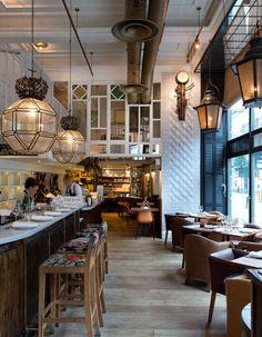 Spanish Restaurant Ibérica in Maylebone, London uk -  ibericamarylebone.com