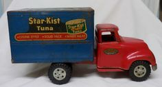 1955 PRIVATE LABEL TONKA STAR-KIST TUNA BOX TRUCK