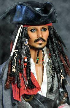 Noel Cruz Creations - Johnny Dep - Jack Sparrow