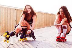 Alquila unos #patines Quads Rookie Retro ¡Un día sobre ruedas!