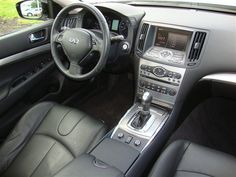 I really like the interior on this one...Infiniti G37x