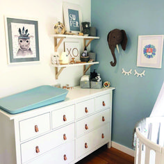Baby Boy Nursery Room İdeas 657173770612819714 - Sweet and also Simple Nursery Designs – Source by Baby Bedroom, Baby Boy Rooms, Baby Room Decor, Baby Boy Nurseries, Nursery Room, Girl Nursery, Blue Nursery Ideas, Ikea Nursery, Babies Nursery
