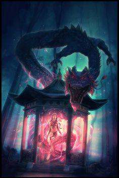 Dragon Summoner by Grafik.deviantart.com