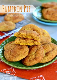 Pie Snickerdoodles are a fabulous Fall twist on a classic cookie the whole family will love!Pumpkin Pie Snickerdoodles are a fabulous Fall twist on a classic cookie the whole family will love! Pumpkin Recipes, Fall Recipes, Sweet Recipes, Holiday Recipes, Cookie Recipes, Dessert Recipes, Christmas Recipes, Pie Recipes, Fudge