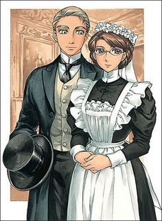 Another picture, this one of the Emma Victorian Romance manga series by Kaoru Mori. This cover is from the tenth manga book in the series, and personally one of my favorites.