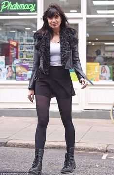 Legs for days! Daisy Lowe, 27, showed off her leggy figure and naturally glowing complexion on Thursday as she headed to the pharmacy make-up free before Strictly rehearsals
