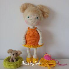 #crochet #crochetdoll #amigurumi #amigurumidoll #lovecrochet #handmade #madebyrusi #rusidolls
