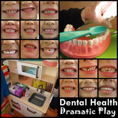 FREE dental health dramatic play download - with a really great outline of how she did it with her class, lovely resource!
