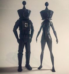 3D printed space boy and space girl. Don't forget to follow @threedimensionalprinting @ianohuang #3d #printer #3dprinting #3dprint  #threedimensionalprinting #print #3dprinter #space #boy #girl #design #talent #inspiration #art #black #instapic #instafollow #followme #followback #pictureoftheday #picoftheday #likeforfollow #like4follow #followme #follow4follow #followforfollow #follow4like #followforlike by threedimensionalprinting