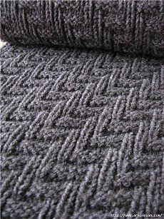 Идеальный узор для шарфа и снуда