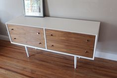 The San Francisco - Paul McCobb Inspired White Chest of Drawers by WakebloomFurniture on Etsy https://www.etsy.com/listing/247742712/the-san-francisco-paul-mccobb-inspired
