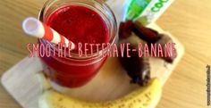 Smoothie Betterave-Banane et eau de coco