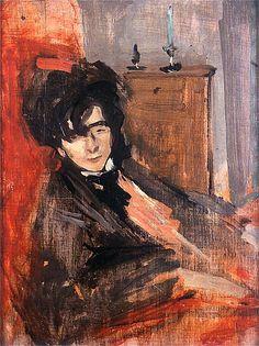 Portrait of Roman Laskowski by Konrad Krzyzanowski