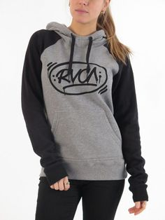 Barrio Raglan Hoodie for women by RVCA