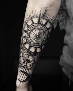 """4,067 Likes, 40 Comments - Dmitriy Tkach (@dmitriy.tkach) on Instagram: """"✖️One more view of yesterday's work!! ✖️ ___________________________________ #tattoo #tattrx…"""""""