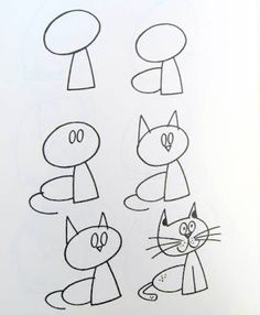 How to draw simple figures? The post How to draw simple figures? … appeared first on Best Pins for Yours - Drawing Ideas Doodle Art, Doodle Drawings, Cartoon Drawings, Animal Drawings, Easy Drawings, Drawing Lessons, Drawing Skills, Drawing Techniques, Drawing Tutorials