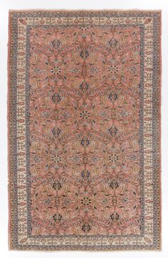 A vintage handmade Anatolian rug made of wool pile on cotton foundation, finely hand knotted, well preserved condition, professionally cleaned and ready to be used for many more decades.    Size: 6 5 x 10 1 (195x307 cm), stock no: Y133