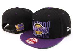 $8.00 NBA Los Angeles Lakers Stitched New Era 9FIFTY Snapback Hats 053