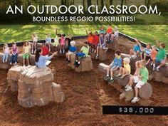 reggio outdoor classroom - Google Search