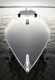 Speed Boat: More than just a speed boat, this baby is sleek and sexy.