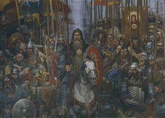Куликовская битва - Искусcтво на тему войны .