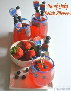 4th of july party drink ideas