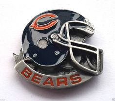 *** CHICAGO BEARS HELMET *** Novelty NFL Hat Pin P52002 EE