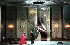 La traviata 2013 Teatro Carlo Felice di Genova. Set design by Rudy Sabounghi.