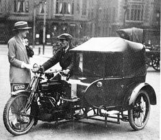 When the first taxis appeared on the streets of Nottingham - Nottinghamshire Live Uk History, Family History, Restaurant Branding, Taxi Driver, Car Wheels, Sidecar, Nottingham, Public Transport, Old Pictures