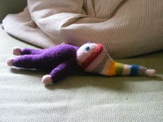 Knitted Gnome Doll Pattern