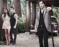 Stefan, Damon & Elena - The Vampire Diaries
