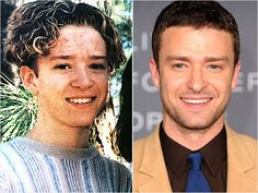 Justin Timberlake Celebrity Yearbook Photos