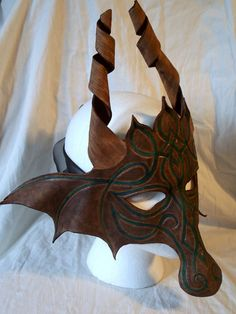 Celtic dragon mask