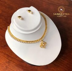 Dainty Pearl Necklace Set #sangeethajewellers #instagold #gold #22caratgold #tamilweddingjewellery #tamilwedding #templejewellery #indianwedding #indianjewellery #tamilweddingjewellery #tradionaljewellery #tamilbride #bridaljewellery #wembley #necklaceset #asianwedding #weddingjewellery #necklaceset #pearlnecklace