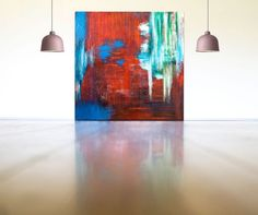 Buy Large Painting - Beauty and Mystery, Oil painting by Cornelia Petrea - Abstract Art on Artfinder. Discover thousands of other original paintings, prints, sculptures and photography from independent artists. Large Painting, Oil Painting On Canvas, Canvas Art, Original Art, Original Paintings, Colors And Emotions, Home Decor Paintings, Modern Artwork, Vivid Colors