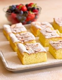 Flourless Almond Cake with Raspberry Sauce from the Almond Board of ...