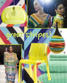 Trend Alert: Colorful Stripes Make a Comeback at Missoni with nuLOOM's Hand Tufted Roxy