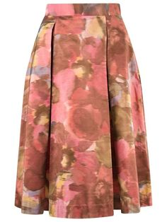Compre Gloria Coelho Saia de seda estampada em Gloria Coelho from the world's best independent boutiques at farfetch.com. Compre em 400 boutiques em um único endereço.