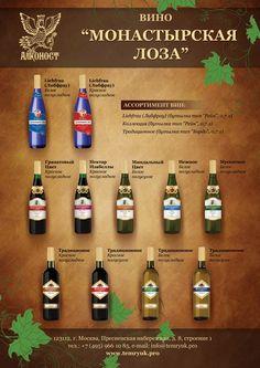 Коллекция вин Монастырская лоза заказать дизайн - irina-polev@yandex.ru